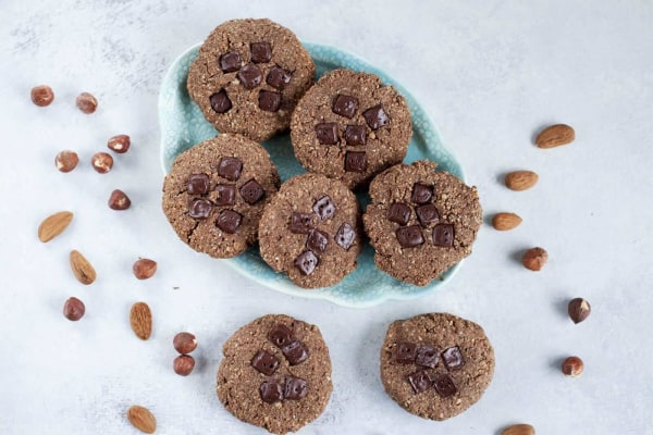 Image ofGluten-Free Hazelnut-Cacao Cookies