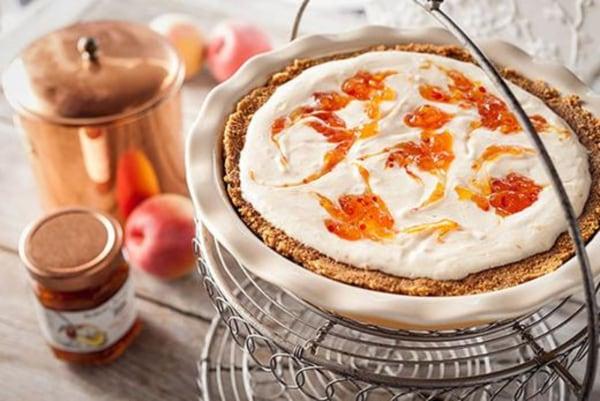 Image of Hot Pepper Peach Cheesecake