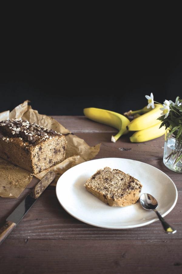 Image of Das beste vegane & glutenfreie Bananenbrot (ohne Mehl, ohne Ei!)