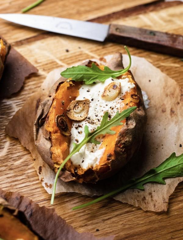 Image of Süsskartoffeln mit Zitronencreme