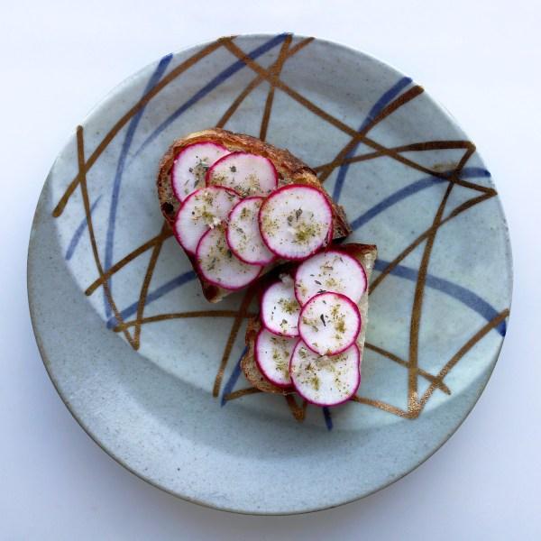 Image of Antibes Radish Toast