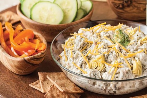 Image of Artichoke and Spinach Crab Dip