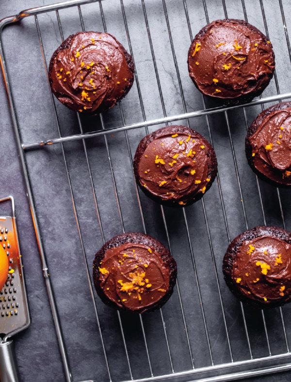 Image of Orangen-Schoggi-Cupcakes