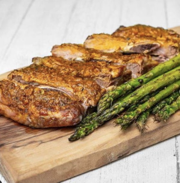 Image ofSlow-Baked Baby Back Beef Ribs