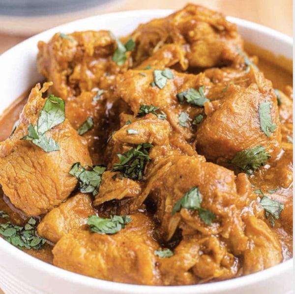 Image ofGarlic Coconut Creamy Spicy Chicken