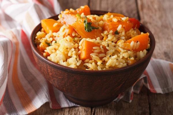 Image of  Steamer recipes Pumpkin rice