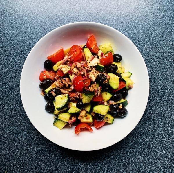 greek italian salad