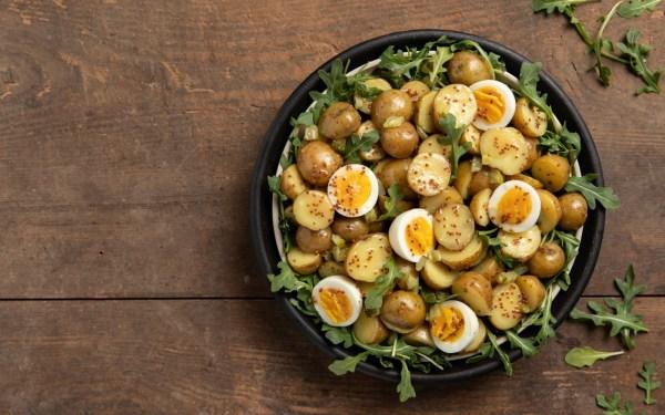 Image ofPotato Salad with Mustard dressing