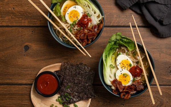Image of Bacon and Egg Ramen