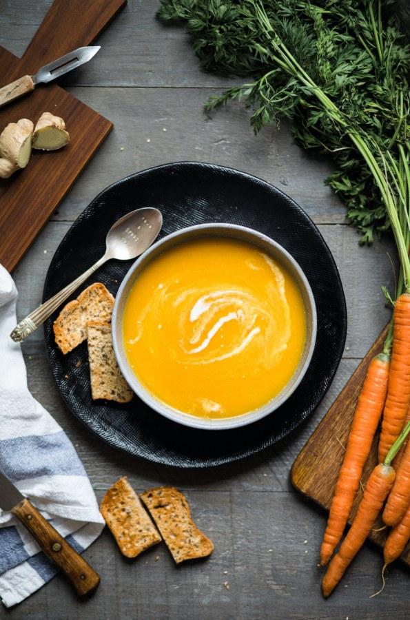 Image of Karotten Ingwer Suppe