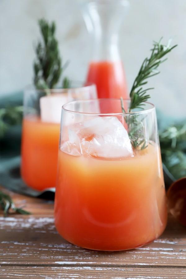 Image of Blood Orange Rosemary Cocktail
