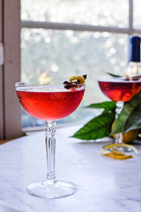 Image of Pomegranate Tequila Sidecar