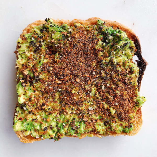 Image ofChaat Masala Avocado Toast
