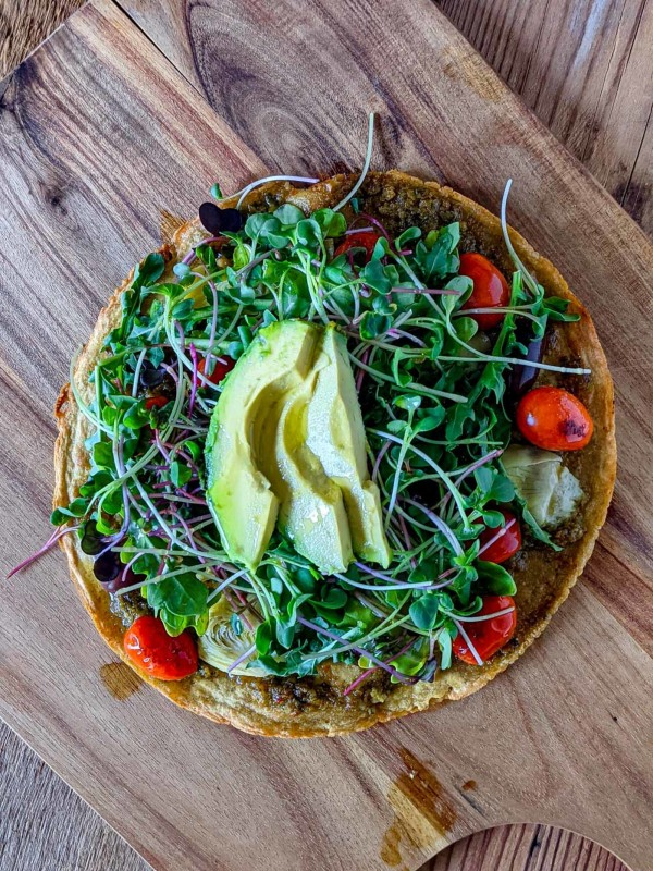 Image ofSocca Flatbread Salad