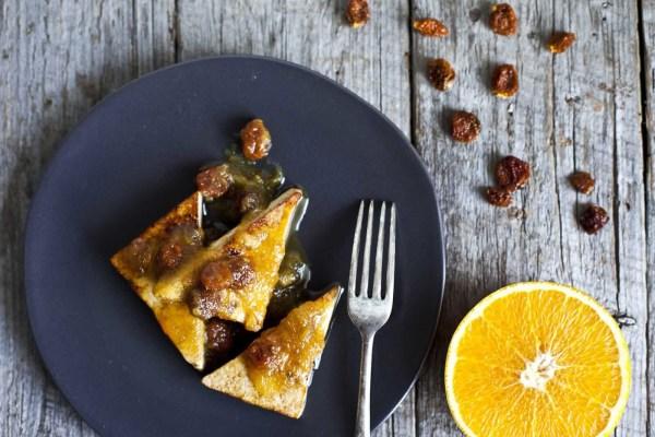 Image ofGrilled Tofu with Orange Goldenberry Sauce