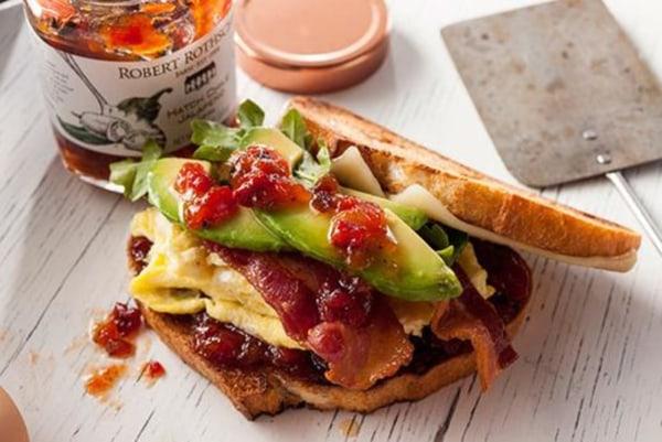 Image ofStacked Breakfast Sandwich