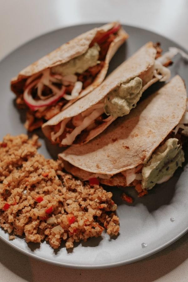 Image ofCrispy Cauliflower Tacos