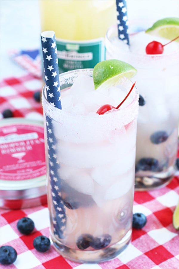 Image ofStar Spangled Blueberry Mojito
