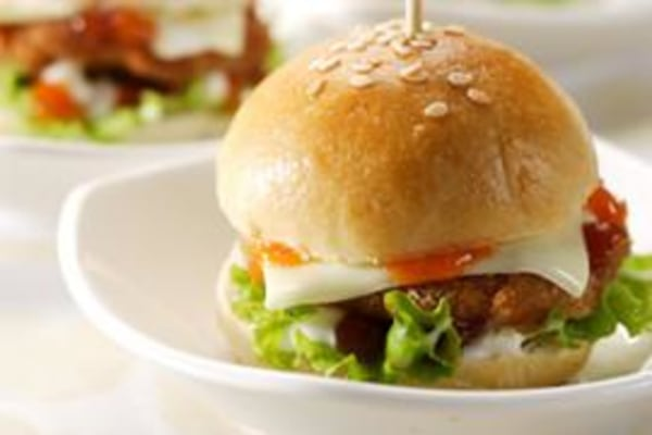 Image of Lamb Sliders with Red Pepper Cumin Sauce