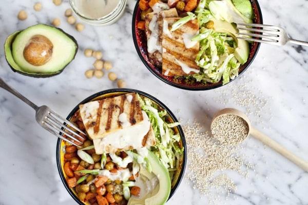 Image ofRoasted Veggie and Tofu Buddha Bowl