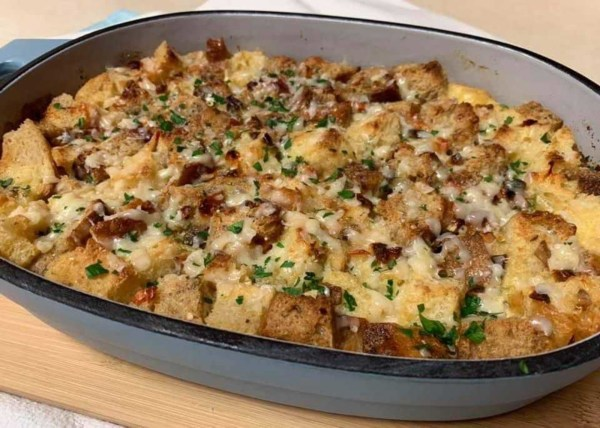 Image of Savory Bread Pudding