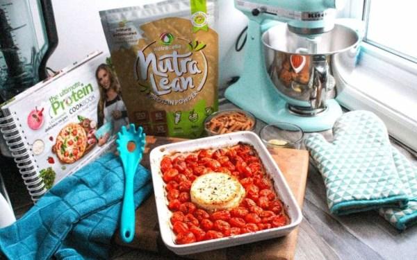 Image ofLow Carb Baked Feta and Cherry Tomato Pasta