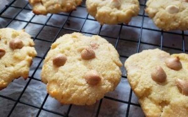 Image ofEasy Coconut Flour Caramel Cookies