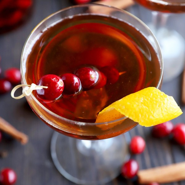 Image ofCranberry Spice Manhattan