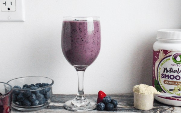 Image ofBerry Explosion Vegan Protein Smoothie