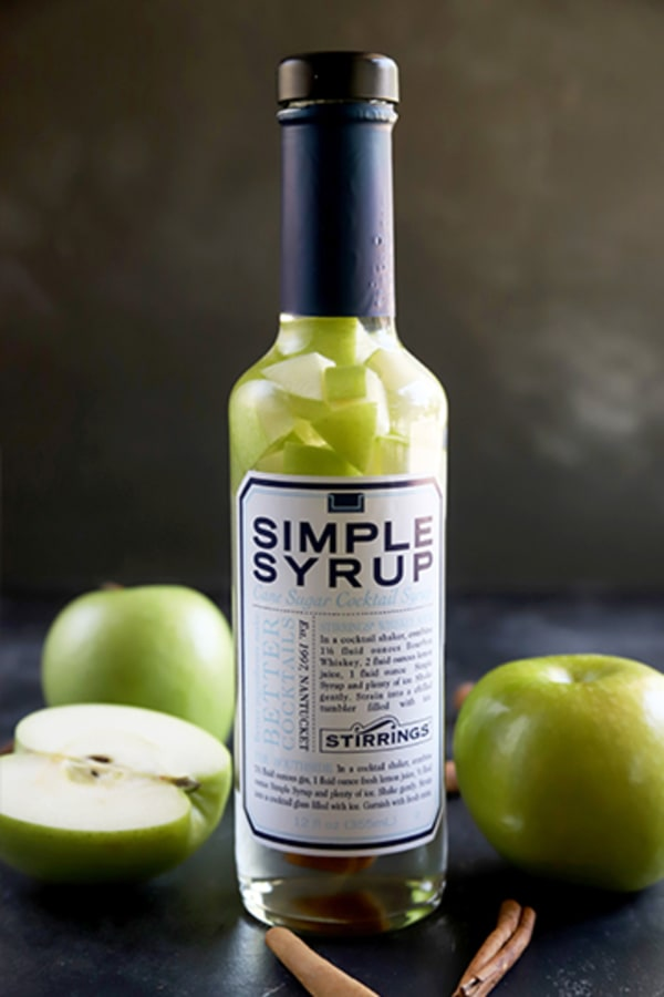 Image ofApple Pie Infused Simple Syrup