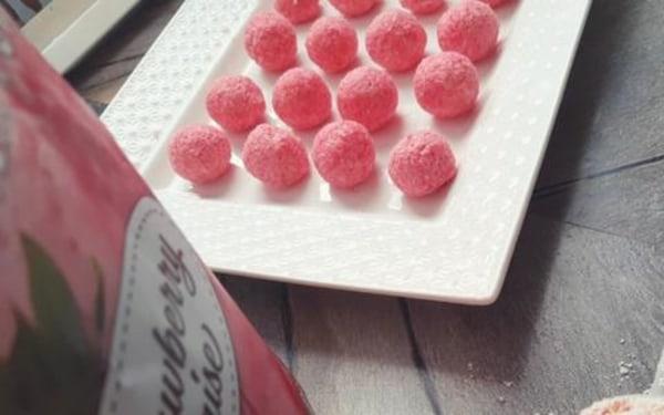 Image ofKeto Strawberry Cream Cheese Balls