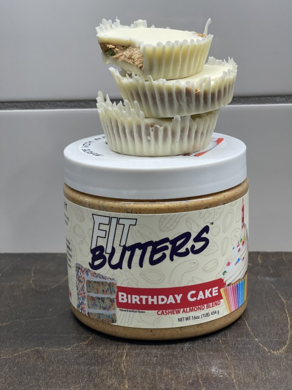 Image of Birthday Cake FIt Butters Cups