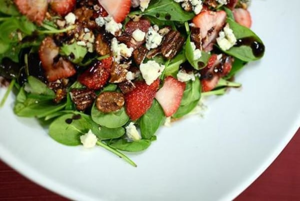 Image of Berry Spinach Salad