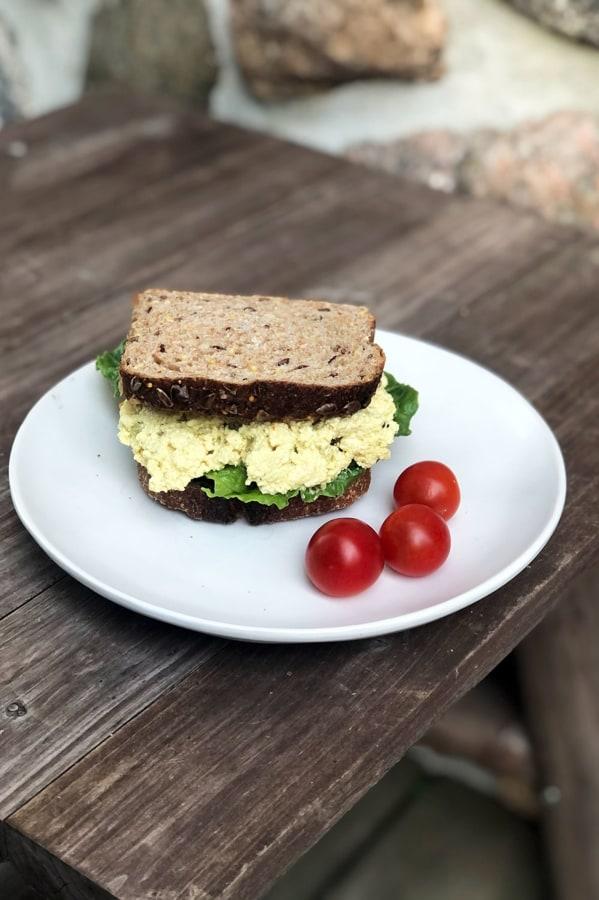 Image of Best Tofu Egg Salad Sandwich