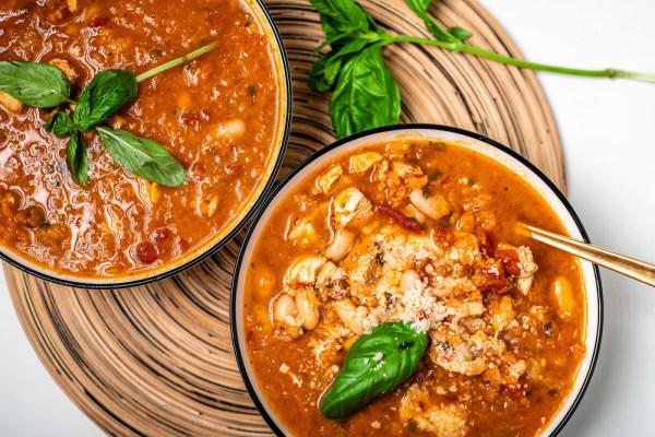 Image of Tomato Basil Chicken Stew