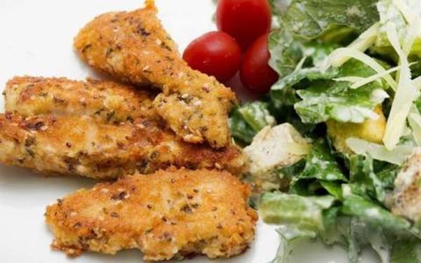Image ofHealthy Family Dinner: Crispy Chicken Fingers