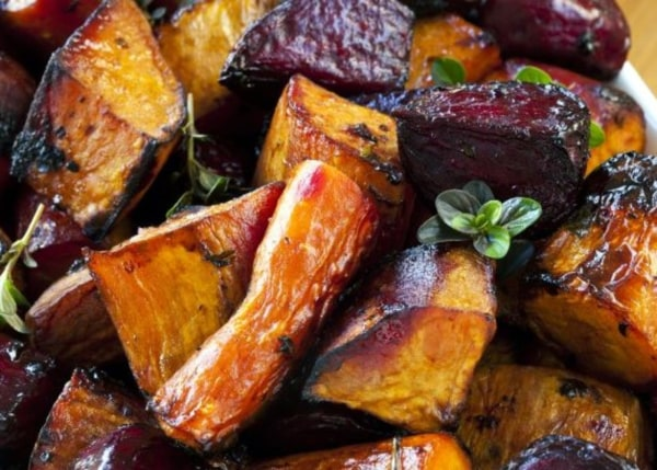 Image of Balsamic Roasted Root Vegetables