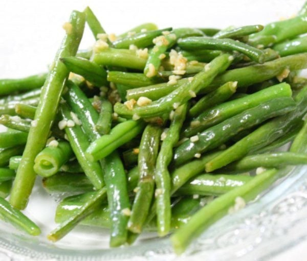 Image of Garlicky (is that actually a word?) Green Beans