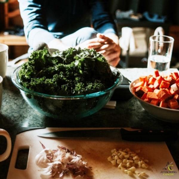 Image ofA Kale of a Salad!