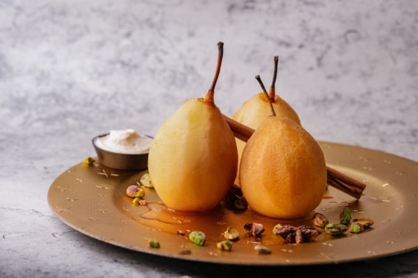 Image ofChai Poached Pears