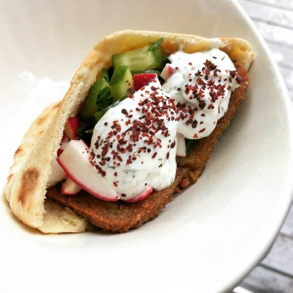 Image of Fauxlafel Sandwich