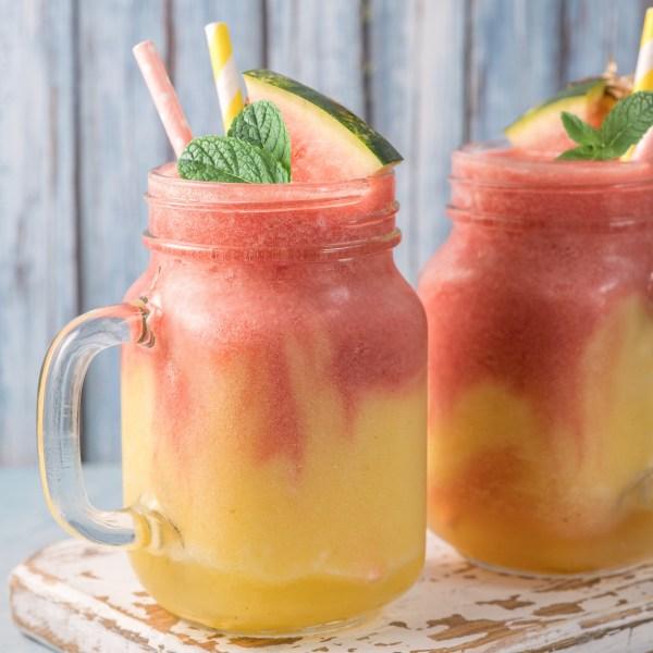 Image ofWatermelon Mango Mint Smoothie