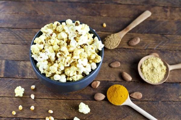 Image ofAlmond, Cumin and Turmeric Popcorn