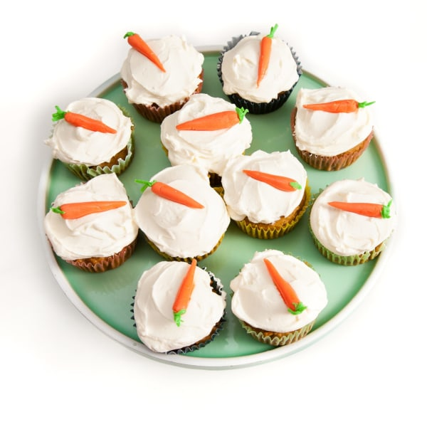 Image of Carrot Cake Cupcakes