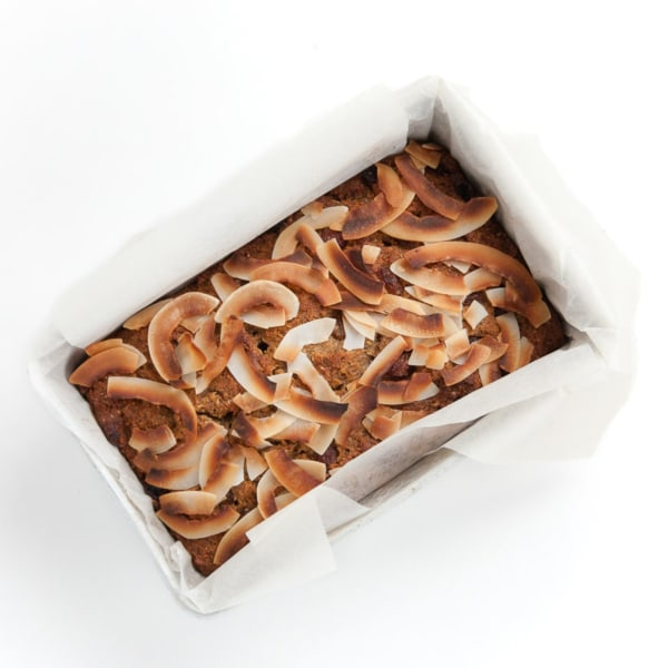 Image of Zucchini, Coconut & Cranberry Loaf
