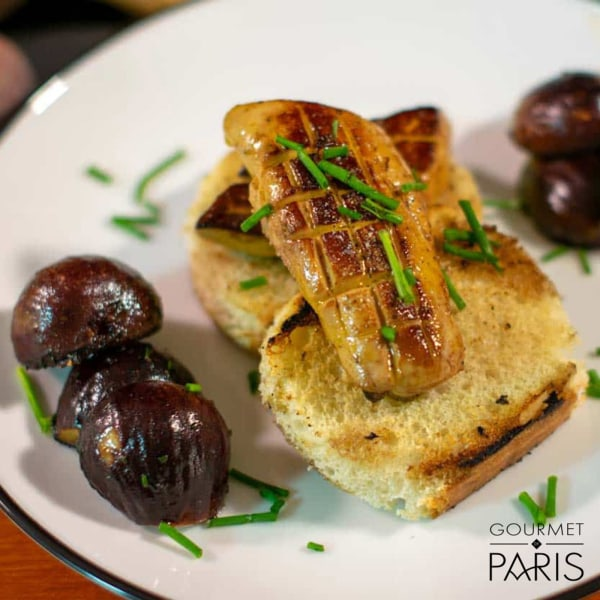 Image ofSeared Foie Gras With Caramelized Figs