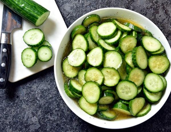 Image of Fresh Cucumber Salad