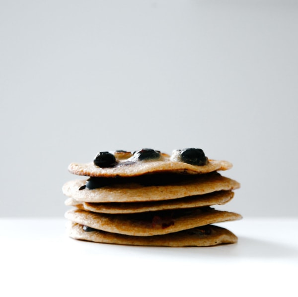 Image of Delicious Blueberry Apple Pancakes