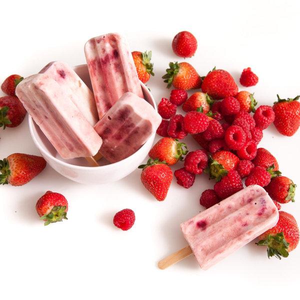 Image of Berry Yoghurt Ice Blocks