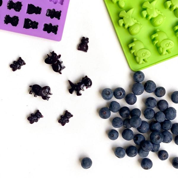 Image of Yummy Plum & Blueberry Gummies
